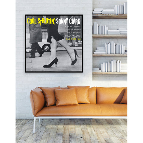 Cool Struttin' Framed Canvas Art