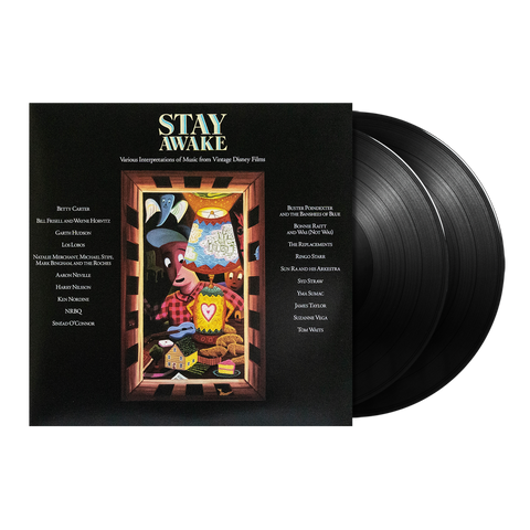 Stay Awake: Various Interpretations Of Music From Vintage Disney Films Limited Edition 2LP