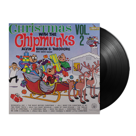 Christmas With The Chipmunks Vol.2 LP