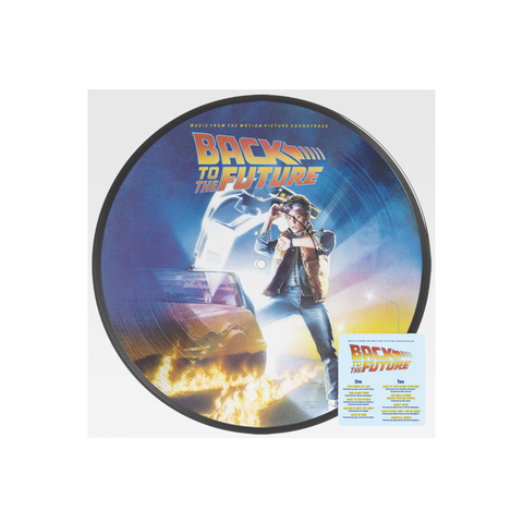 Back To The Future OST Picture Disc