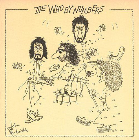 The Who By Numbers LP