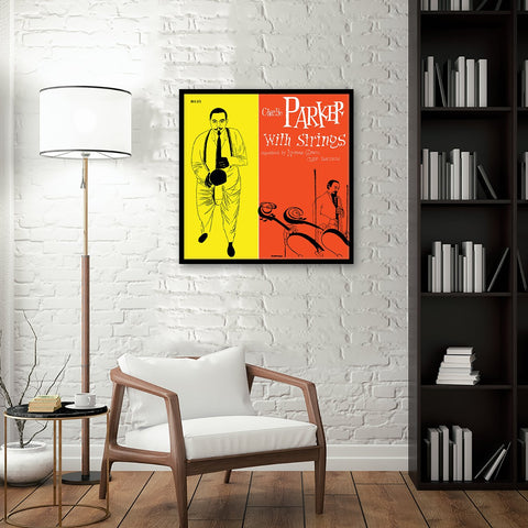 Charlie Parker with Strings Framed Canvas Art
