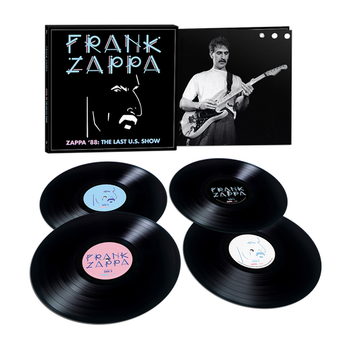 Zappa '88: The Last U.S. Show 4LP