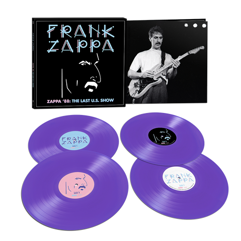 Zappa '88: The Last U.S. Show Limited Edition 4LP