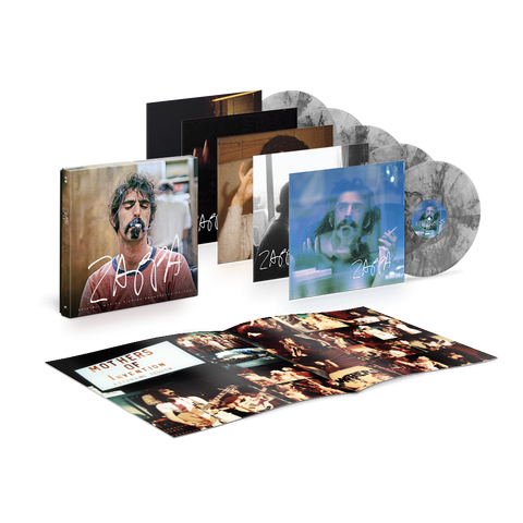 Zappa Original Motion Picture Soundtrack Limited Edition 5LP