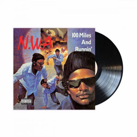 100 Miles and Runnin' 3D Lenticular LP