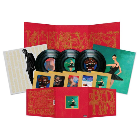 My Beautiful Dark Twisted Fantasy (Explicit 3LP)