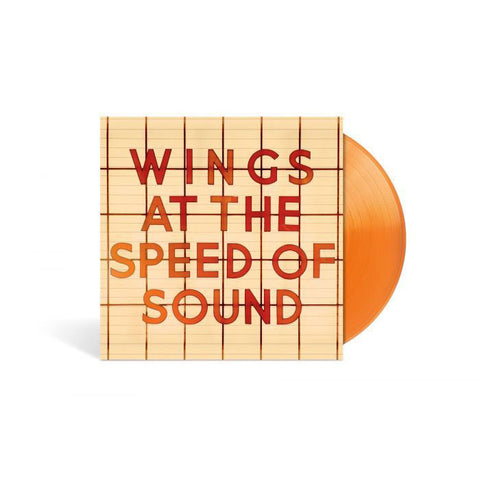 At The Speed Of Sound Limited Edition - Orange LP