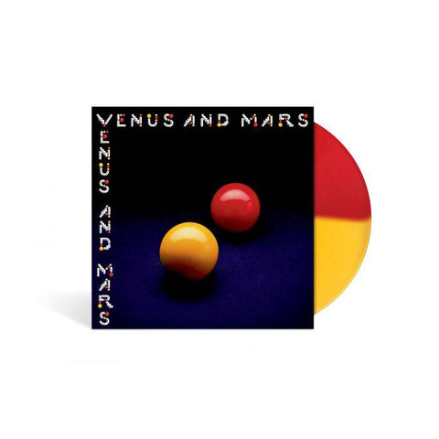 Venus and Mars Limited Edition - Red and Yellow LP