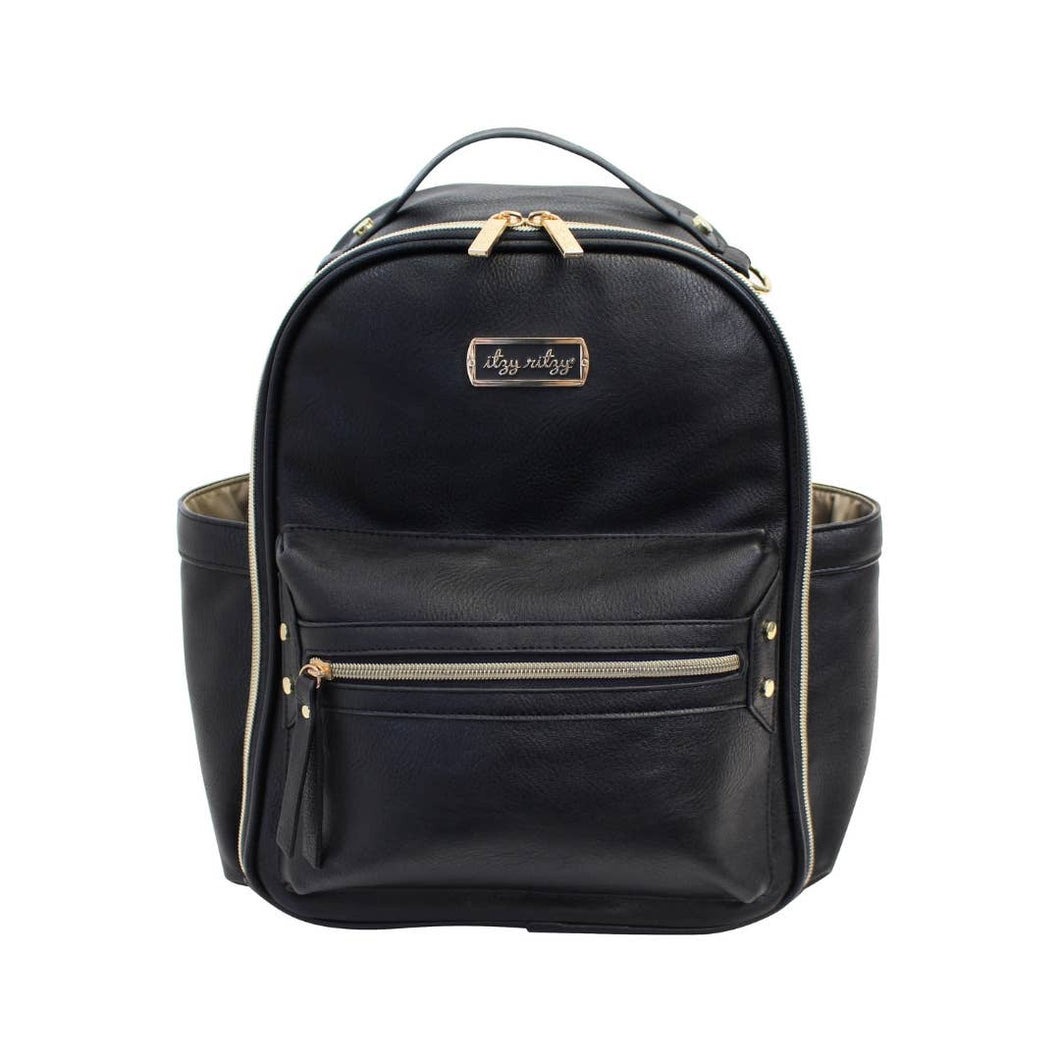 Black Itzy Mini™ Diaper Bag Backpack