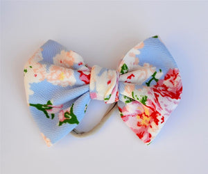 Spring Bouquet Baby Bella Hair Bow