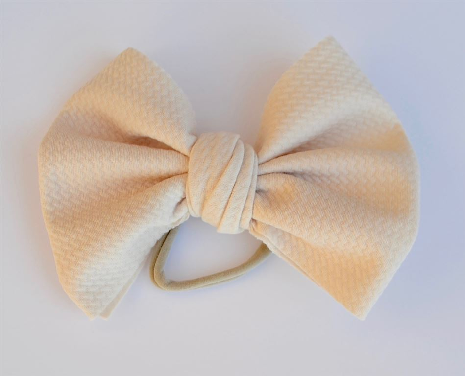 Ivory Baby Bella Hair Bow