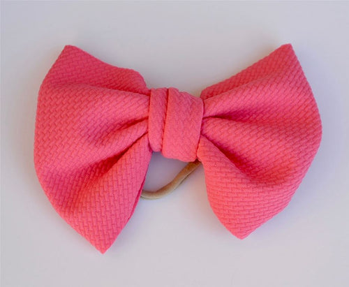 Watermelon Baby Bella Hair Bow