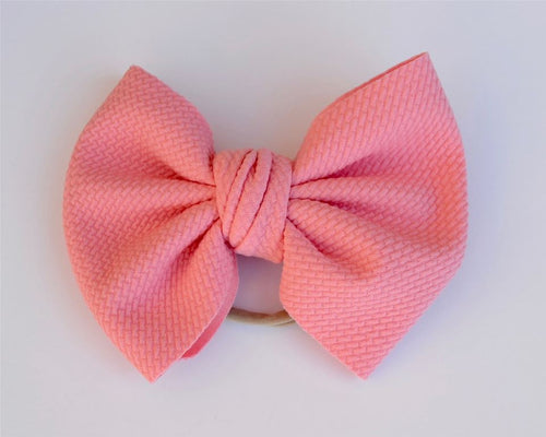 Perfect Pink Baby Bella Hair Bow