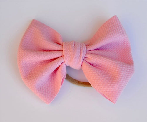 Baby Pink Baby Bella Hair Bow