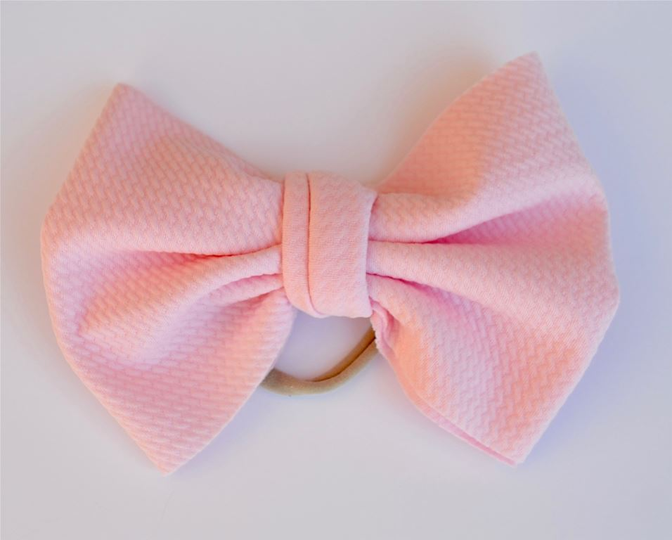 Ballet Pink Baby Bella Hair Bow