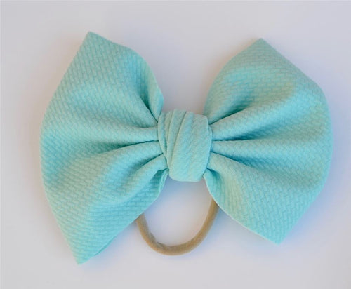 Aqua Baby Bella Hair Bow