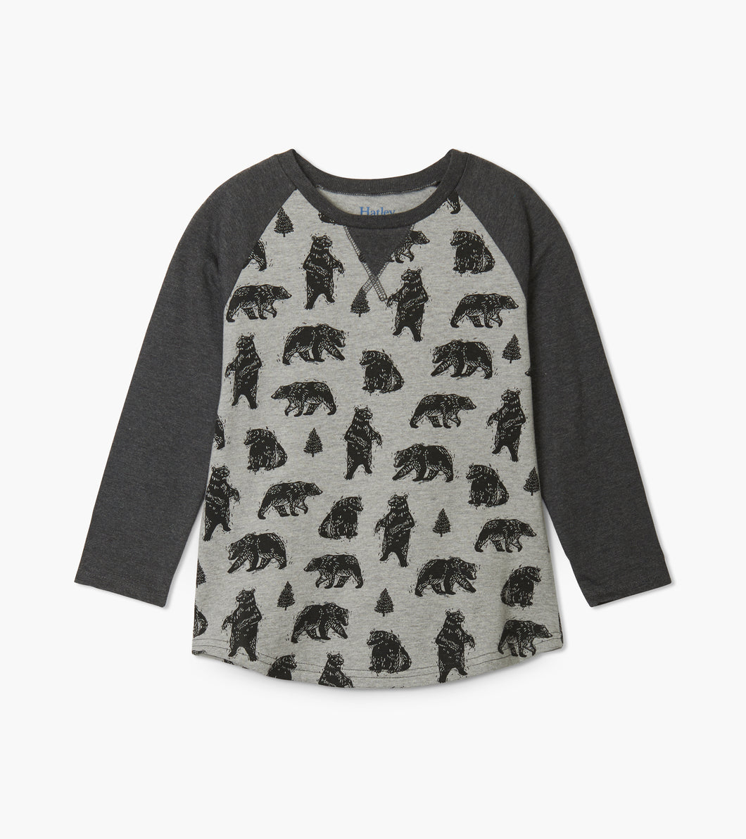 Black Bear Raglan