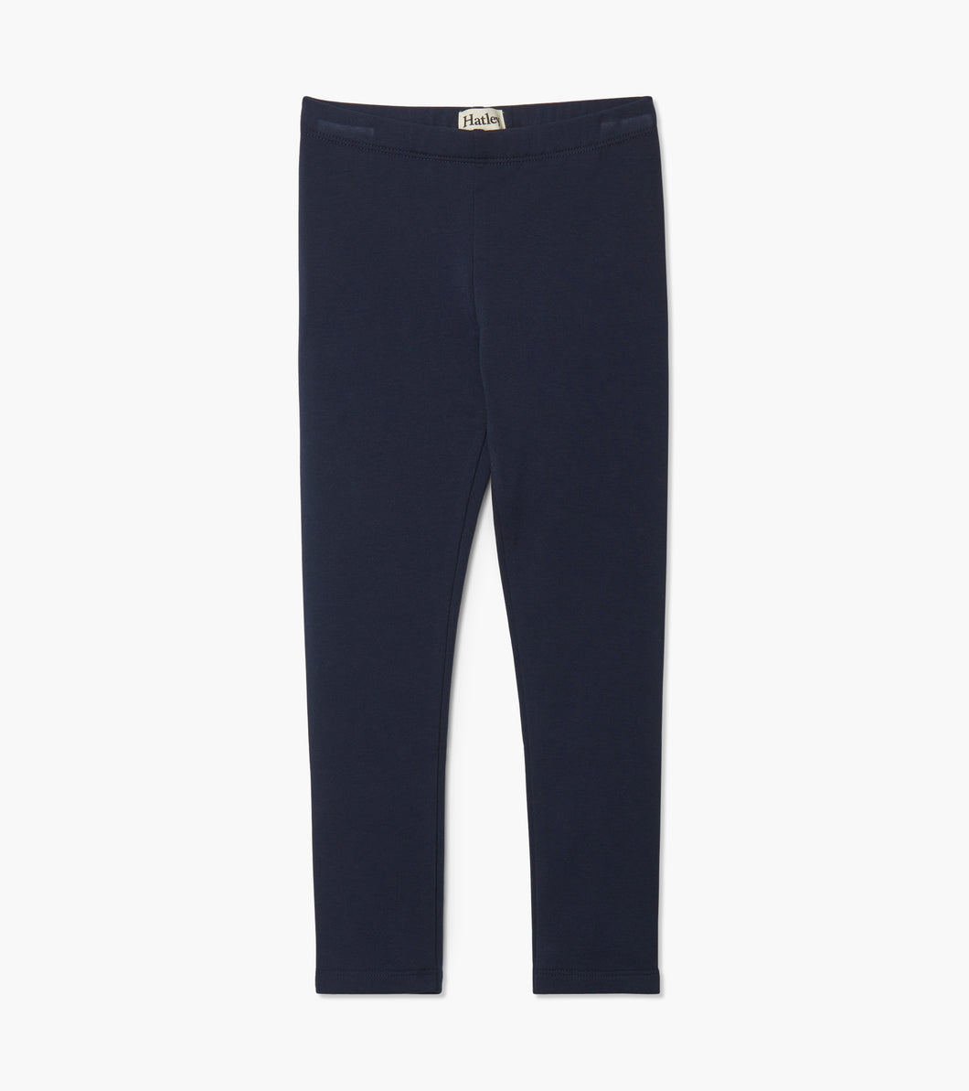 Navy Cozy Leggings