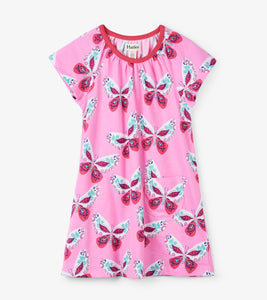 Butterflies Tee Shirt Dress