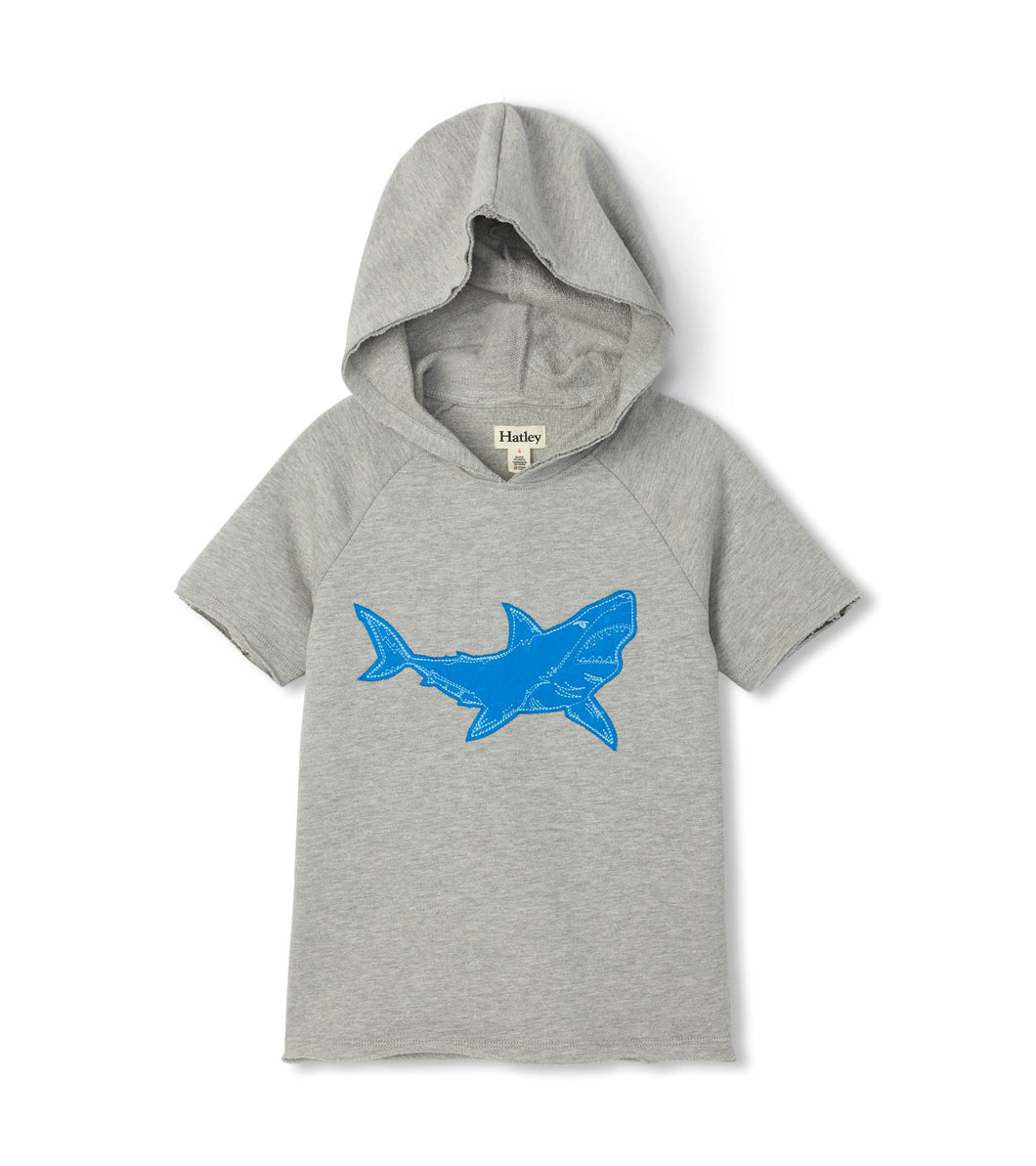 Great White Shark Raglan Hoodie