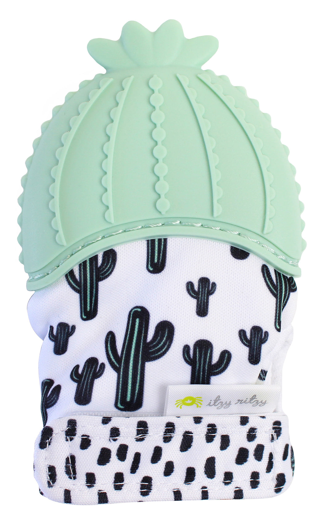 Cactus Itzy Mitt™ Silicone Teething Mitts