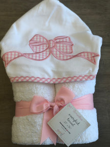 Pink Bow Everyday Towel