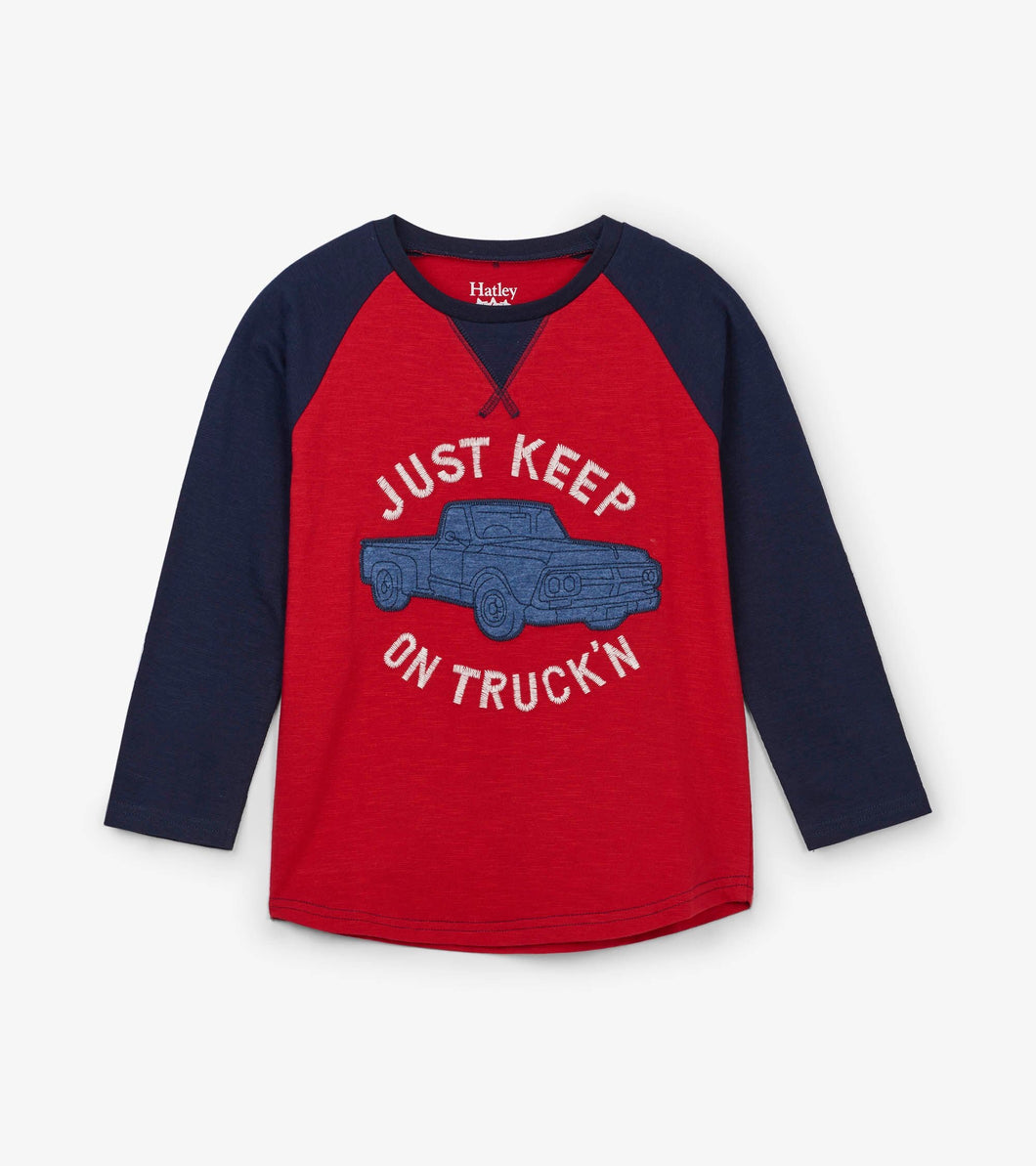 Just Keep On Truckin Tee