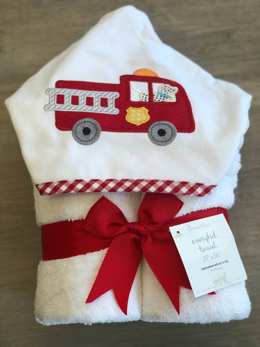 Firetruck Everyday Towel
