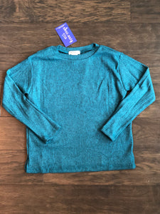Adriana Teal Sweater