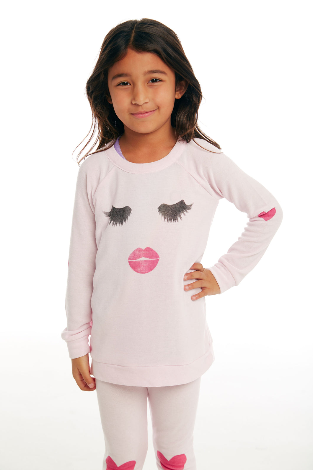Lashes & Lips Pullover