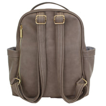Load image into Gallery viewer, Taupe Itzy Mini™ Diaper Bag Backpack