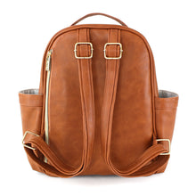 Load image into Gallery viewer, Cognac Itzy Mini™ Diaper Bag Backpack