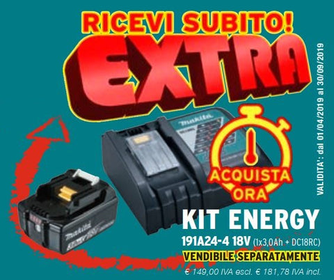 EXTRA KIT ENERGY Makita