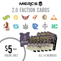 MERCS 2.0 Faction Cards