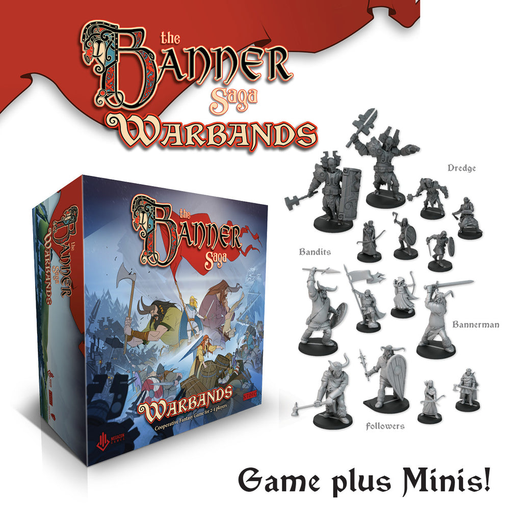 The Banner Saga: Warbands Game + Minis Combo