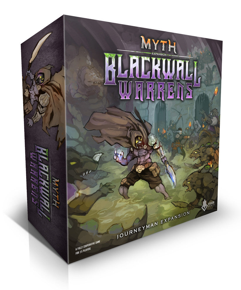 Myth Journeyman: Blackwall Warrens