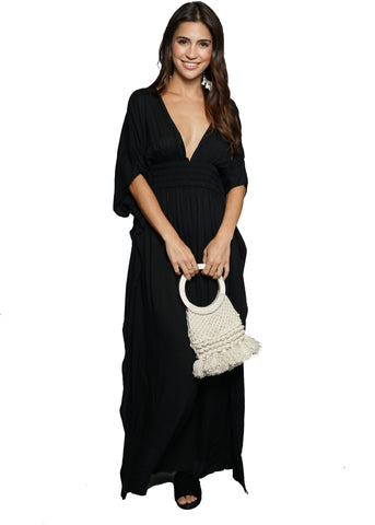 For Love and Lemons Nadine Velvet Maxi