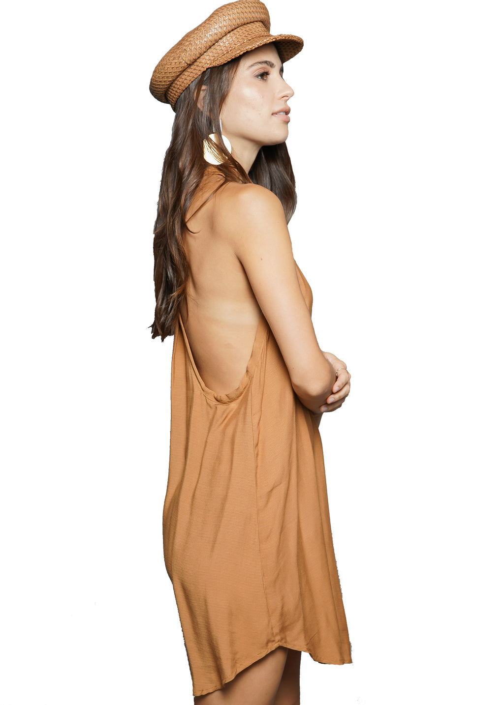Indah Riva T-back Mini Dress