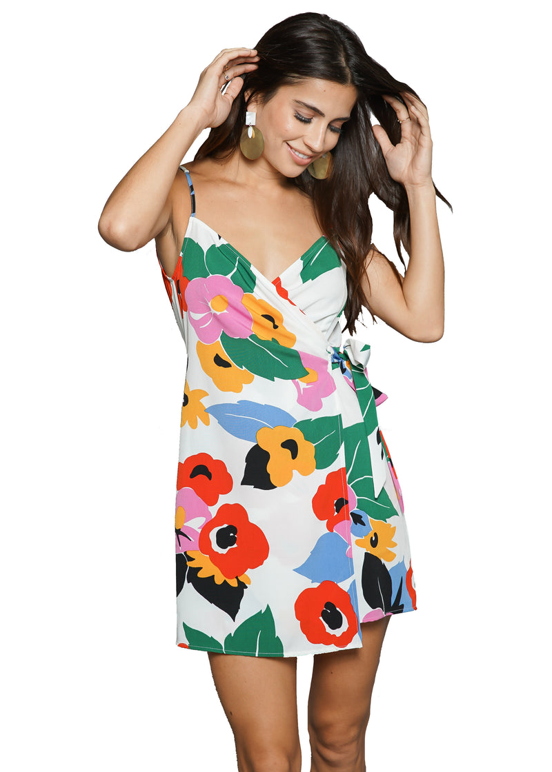Show Me Your Mumu Say Jay Wrap Dress
