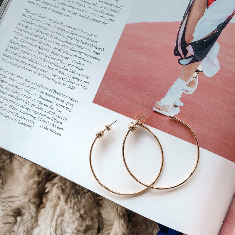 Jenny Bird Icon Hoops