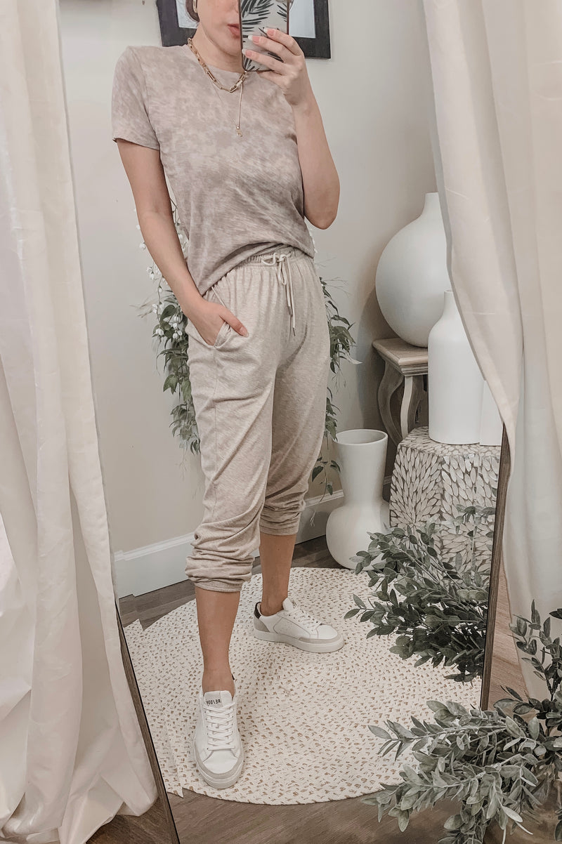 ATM Cotton Pull-on Wide Leg Pant