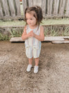 Bella Dahl Girl Smocked Short w/ Fray