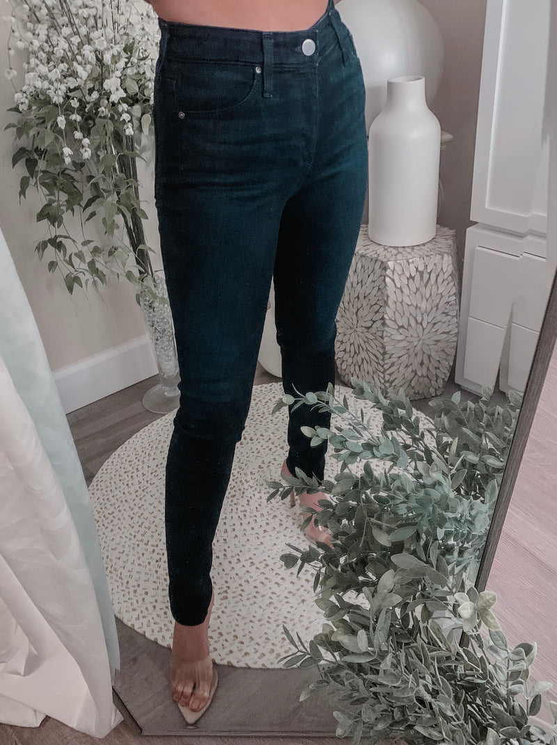 AG High Waisted Farrah Skinny