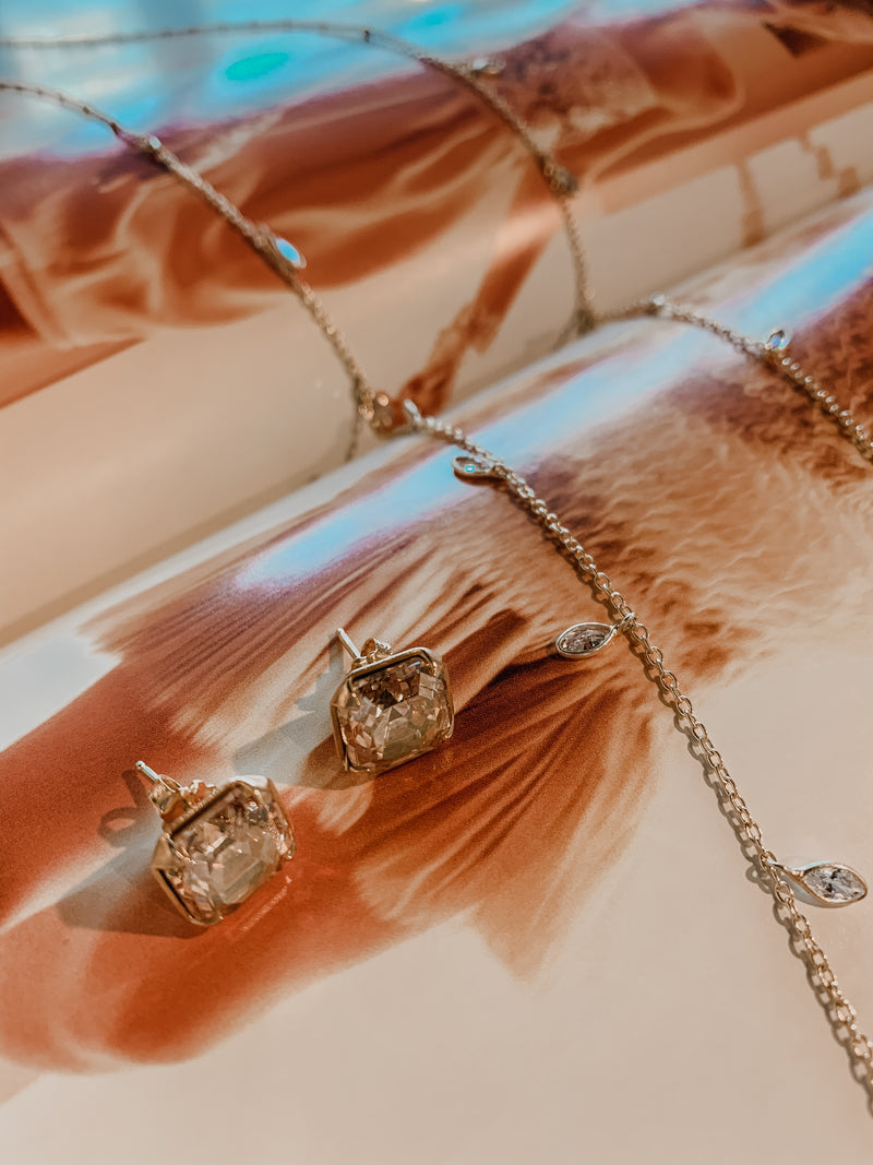 Chan Luu Gold Crystal Necklace