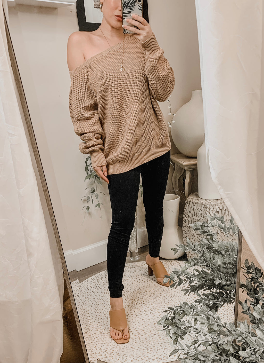 Callahan The Off-Shoulder Sweater