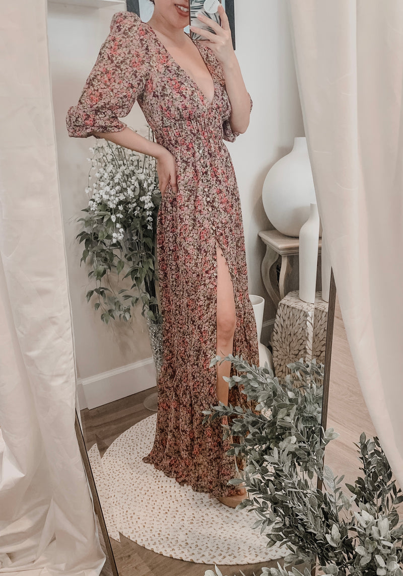 For Love & Lemons Sadie Maxi Dress