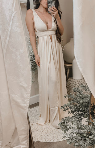 For Love & Lemons Becca Maxi Dress