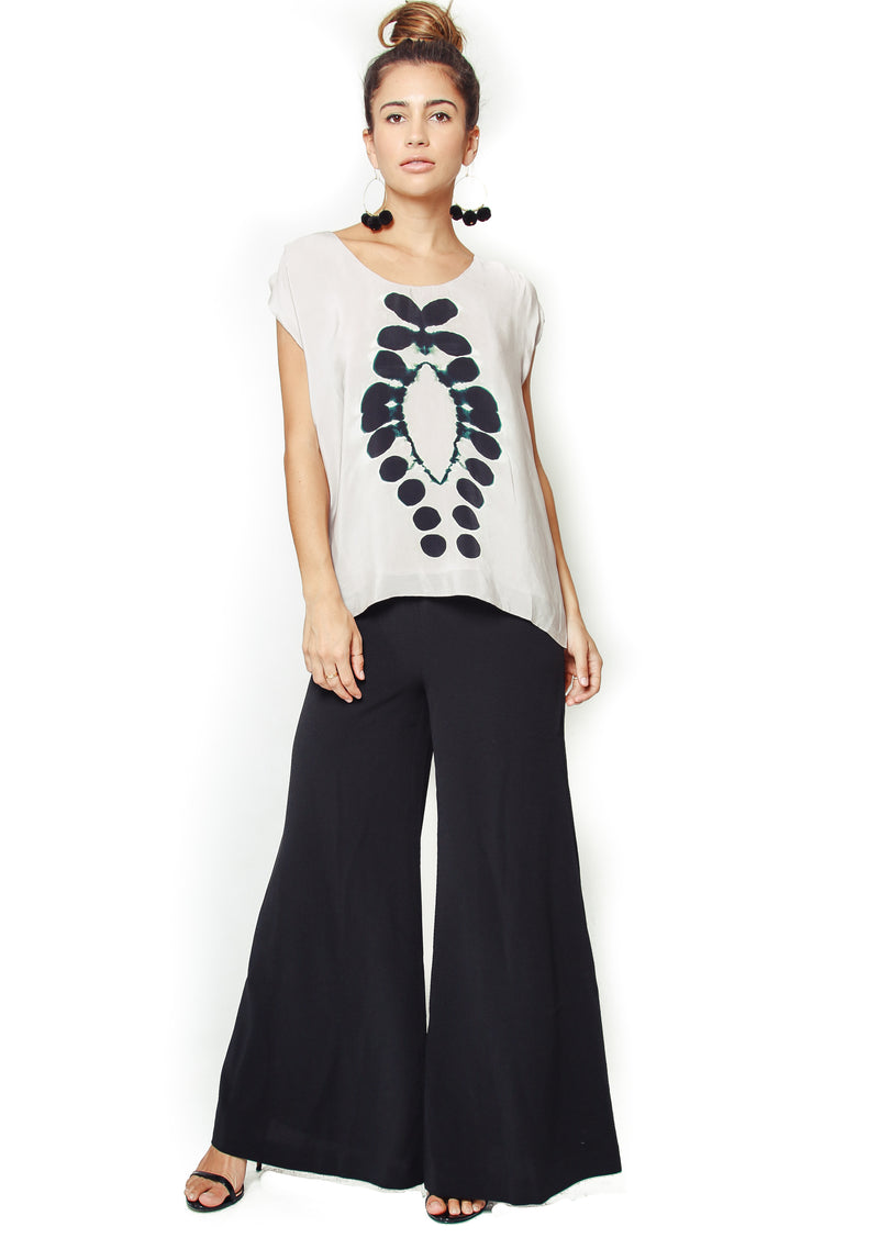 Laura Siegel Clamp Dye Easy Tee