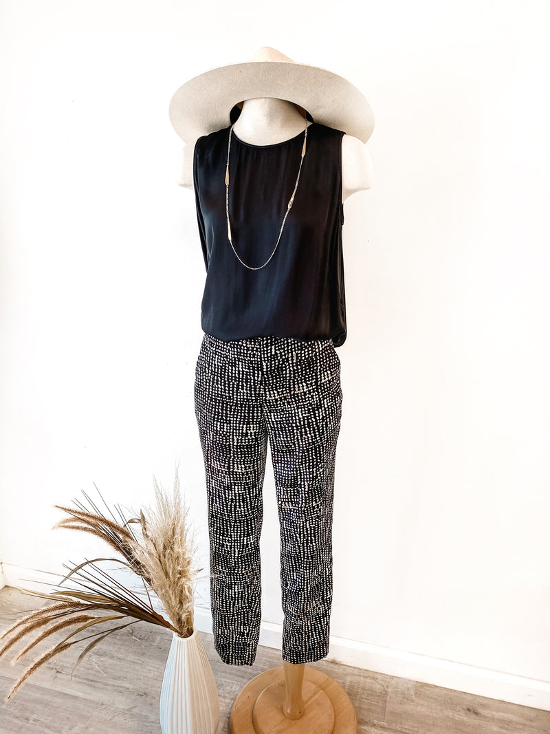 Nic + Zoe Dotted Lines Pant